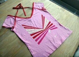 Rosa Rot Shirt Bändchen Größe S M #Girlie #Only