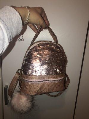 Backpack rose-gold-coloured
