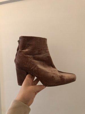 Rosa samt boots, 37