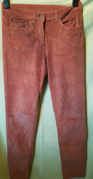 Pantalon strech rose coton