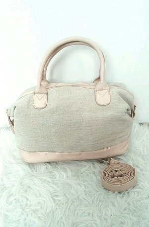 Rosa/Sand farbene Tasche