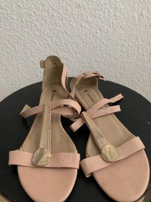 Sandalias de tiras multicolor