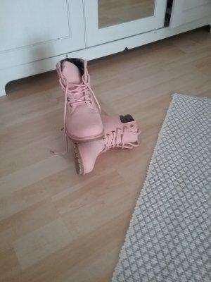 Botas bajas rosa