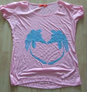 rosa Shirt mit Pailleten von MISS GOODLIFE