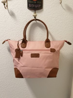 Shopper brown-pink