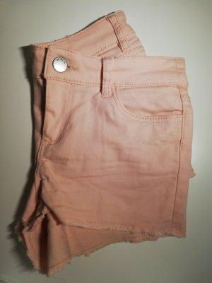 H&M Pantalón corto de tela vaquera multicolor
