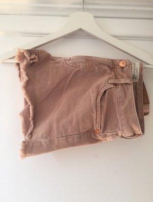 H&M Denim Shorts rose-gold-coloured
