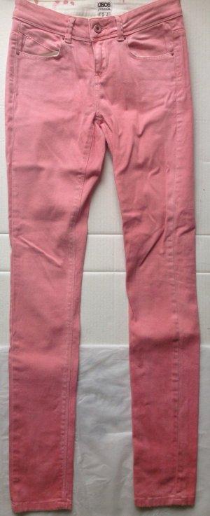 rosa sknny jeans von asos denim in Gr. 34