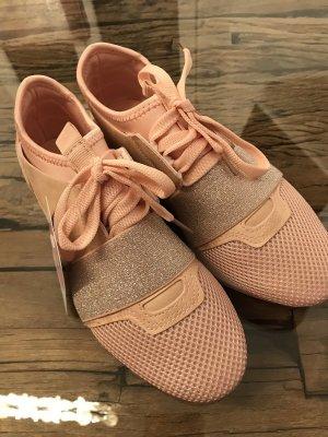 Rosa Sneaker Gr 36 Neu