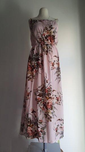 Rosa Sommerkleid mit Blumenmuster