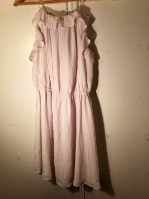 Scotch & Soda Babydoll Dress pink polyester