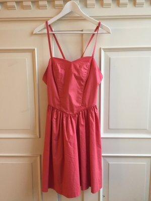 Laura Ashley Midi Dress multicolored cotton
