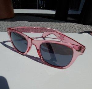 Square Glasses anthracite-pink
