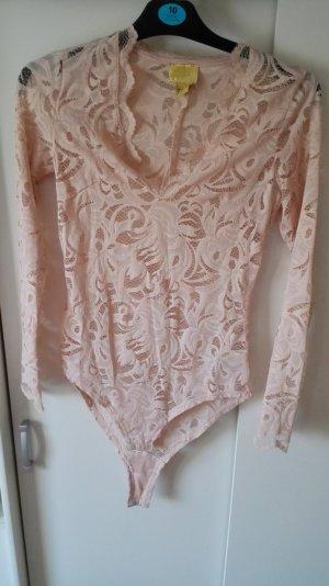 Rosa Spitzenbody H&M Größe 36 S
