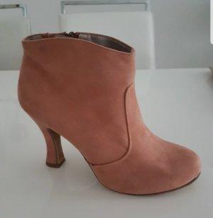 rosa Stiefelette