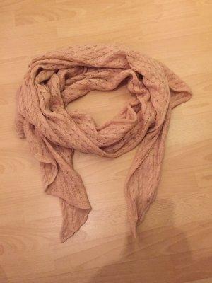 Rosa Strick-Schal von H&M