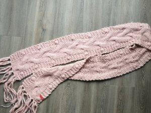 Esprit Écharpe en tricot vieux rose-rose clair