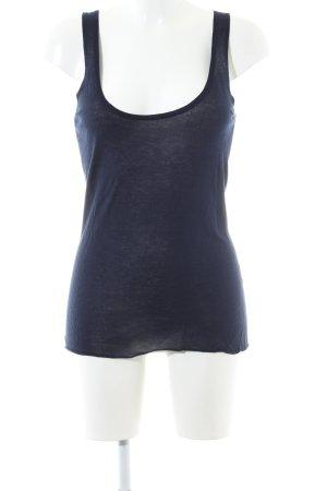 Rosa Haut tricotés bleu style décontracté