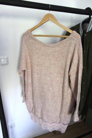 Reserved Abito di maglia rosa antico
