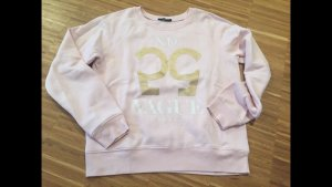 Rosa Sweater mit Print