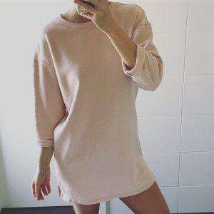 H&M Vestido de tela de sudadera multicolor
