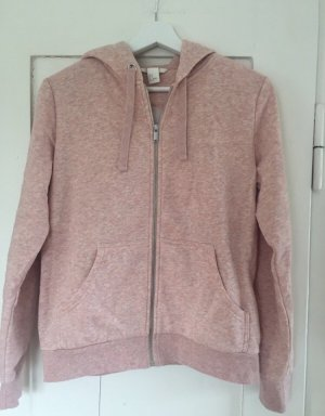 H&M Veste sweat or rose