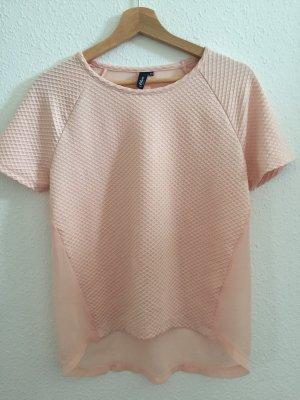 Camiseta albaricoque-rosa