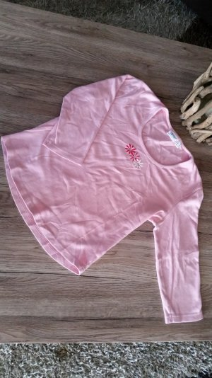 Rosa T-Shirt 3/4 Ärmel Esprit Gr. M 38