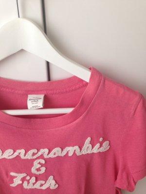 Rosa T-Shirt von Abercrombie & Fitch