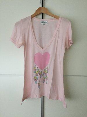 Rosa T-Shirt von Wildfox