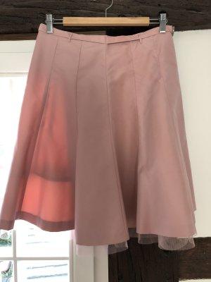 H&M Falda de tafetán multicolor