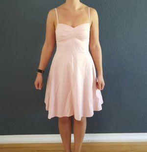 Rosa Trägerkleid Gr 40