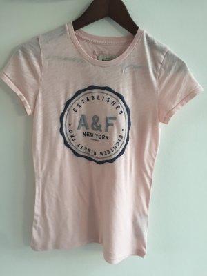 Rosa Tshirt Tshirt von Abercrombie & Fitch in Größe M