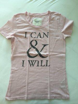 Rosa Tshirt von Abercrombie & Fitch Größe M