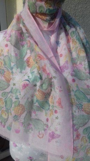 Madeleine Neckerchief pink polyester