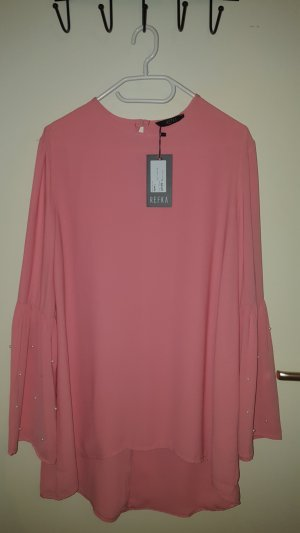 100% Fashion Tuniekblouse roze-roze