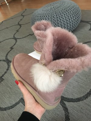 UGG Snow Boots rose-gold-coloured