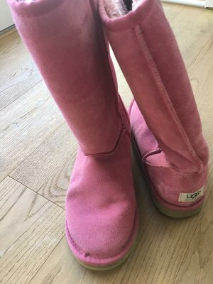 UGG Bottes de neige rose