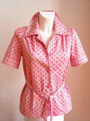 Rosa Vintage Bluse Gr. 38/40
