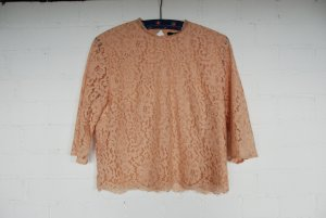 H&M Lace Top multicolored cotton