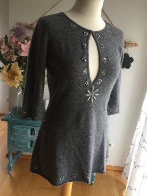 Rosa von Schmaus Maglione di lana grigio