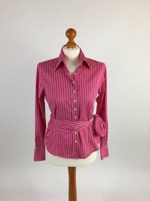 rosa/weiß gestreifte UMANI Bluse in Gr. M (38-40)