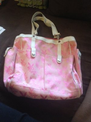 Rosa-Weiße Playboy-Tasche