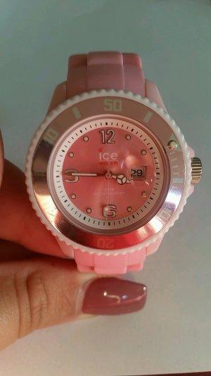rosa/weiße Uhr von Ice Watch