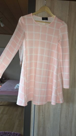 Rosa weißes Sommerkleid