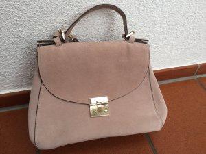 Rosa Wildledertasche Zara