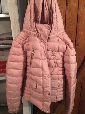 Zara Veste d'hiver rosé