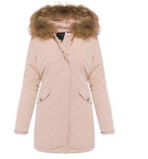 Attentif Down Coat pink-light pink