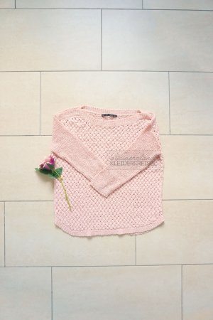 Rosa Winterpullover von Zara