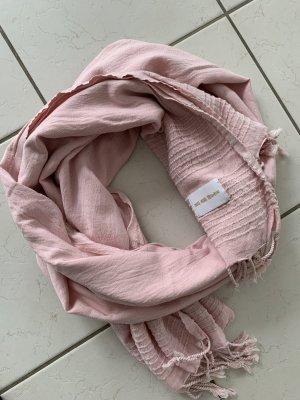 Kauf Dich Glücklich Fringed Scarf light pink cotton